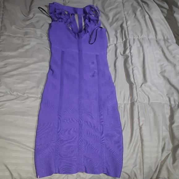 bebe Dresses & Skirts - Purple bebe dress